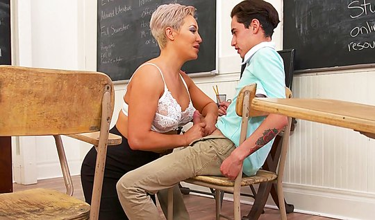 Mature teacher teaches everything and sex too